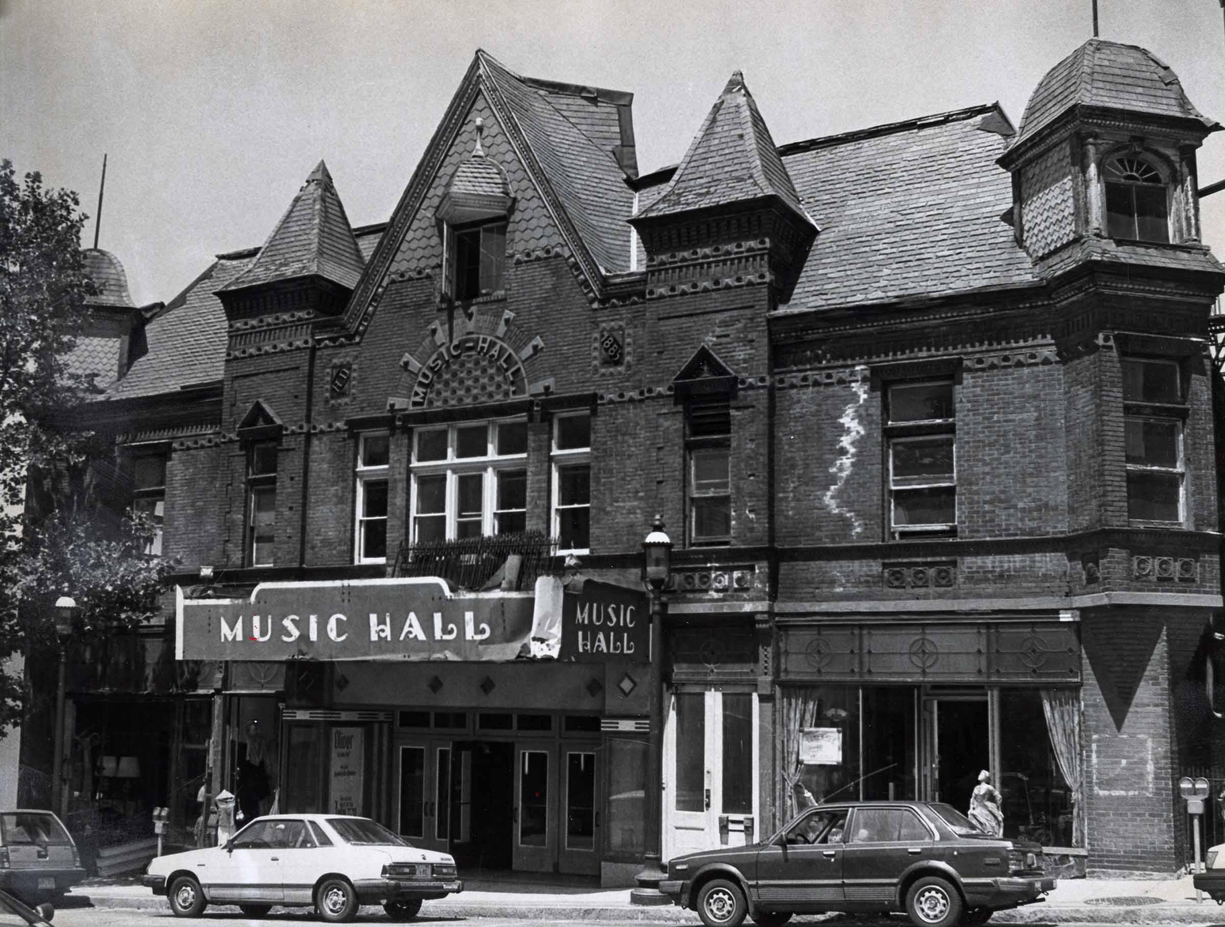 Tarrytown Music Hall in 1978.