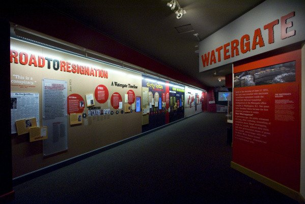 The most controversial gallery has been the Watergate exhibit; the National Archives and the Nixon Foundation clashed over its content during a 2011 renovation