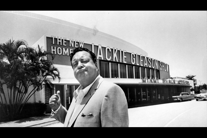 The original Jackie Gleason Theater when it was home to the Jackie Gleason show