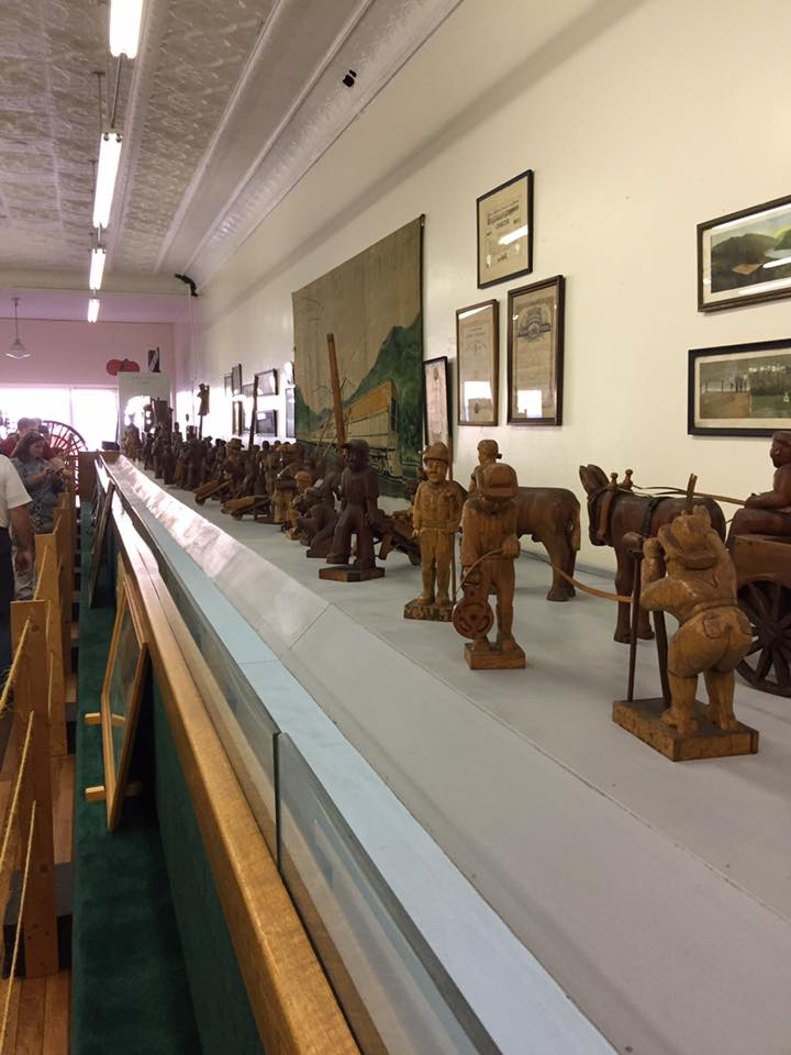John Henry wood carvings