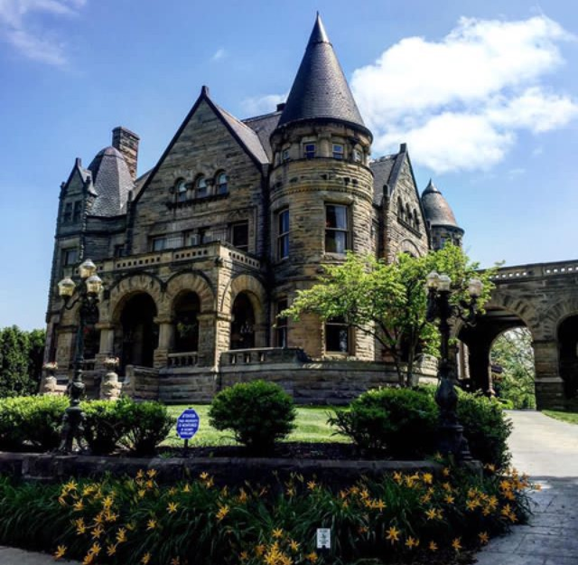 The Frank H Buhl Mansion in Sharon PA