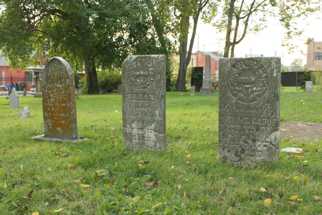 Another Image of Graves in The Old Episcopal Burying Grounds