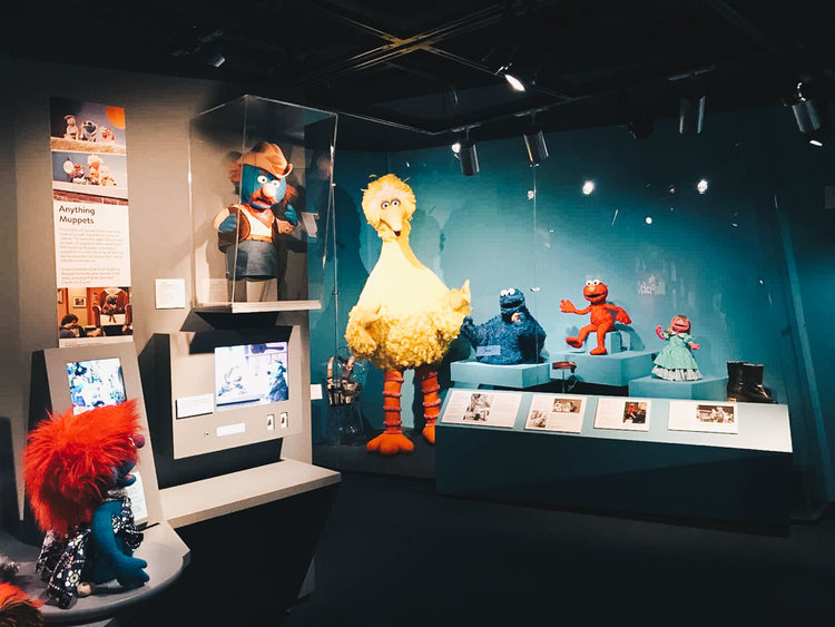 View of the permanent Jim Henson exhibition.