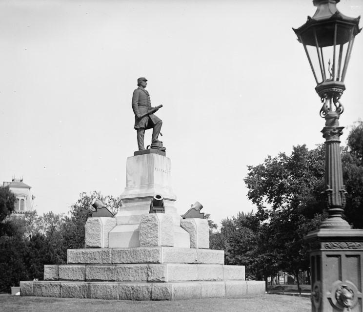 Farragut Square in 1881