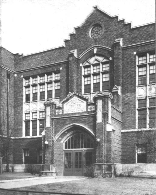 Photograph from the Warwood High Warrior, taken in 1947, courtesy of the Ohio County Public Library