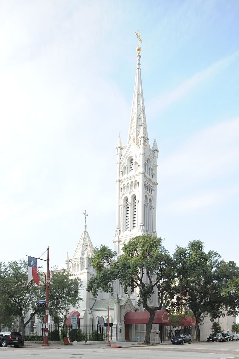 Annunciation Church was built in 1871 and its parish is one of the states oldest congregations.
