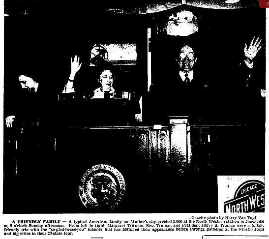 Janesvile Gazette May 15th 1950