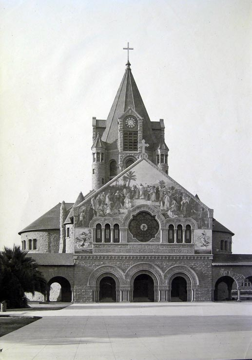 The church as it looked prior to the Great San Francisco Earthquake of 1906.