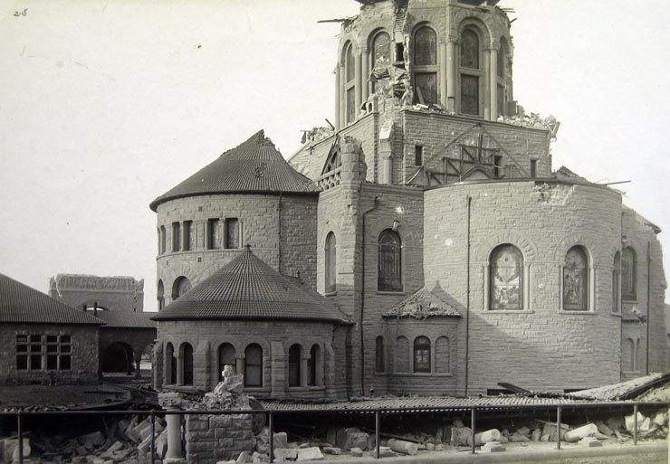 And the damage wrought by the 1906 quake.