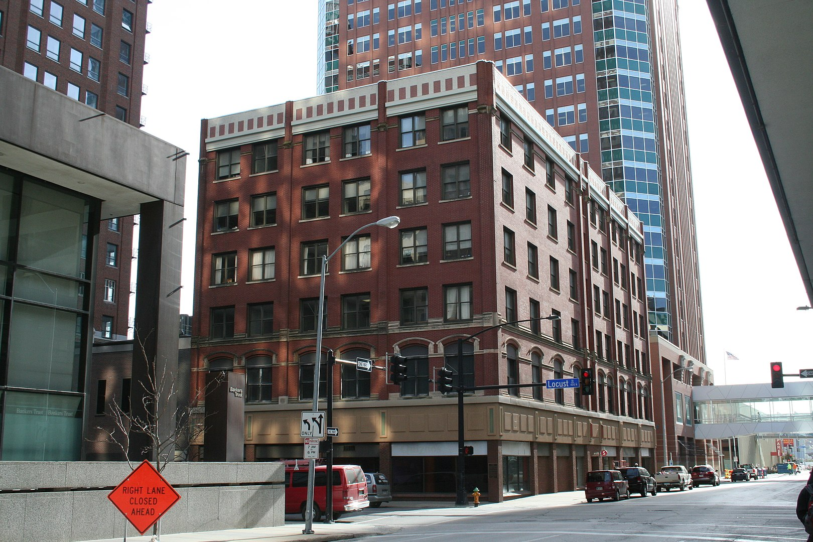 2016 Photo of the Flynn-Griffin Building in Des Moines.