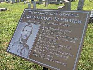 General Adam Jacoby Slemmer Plaque