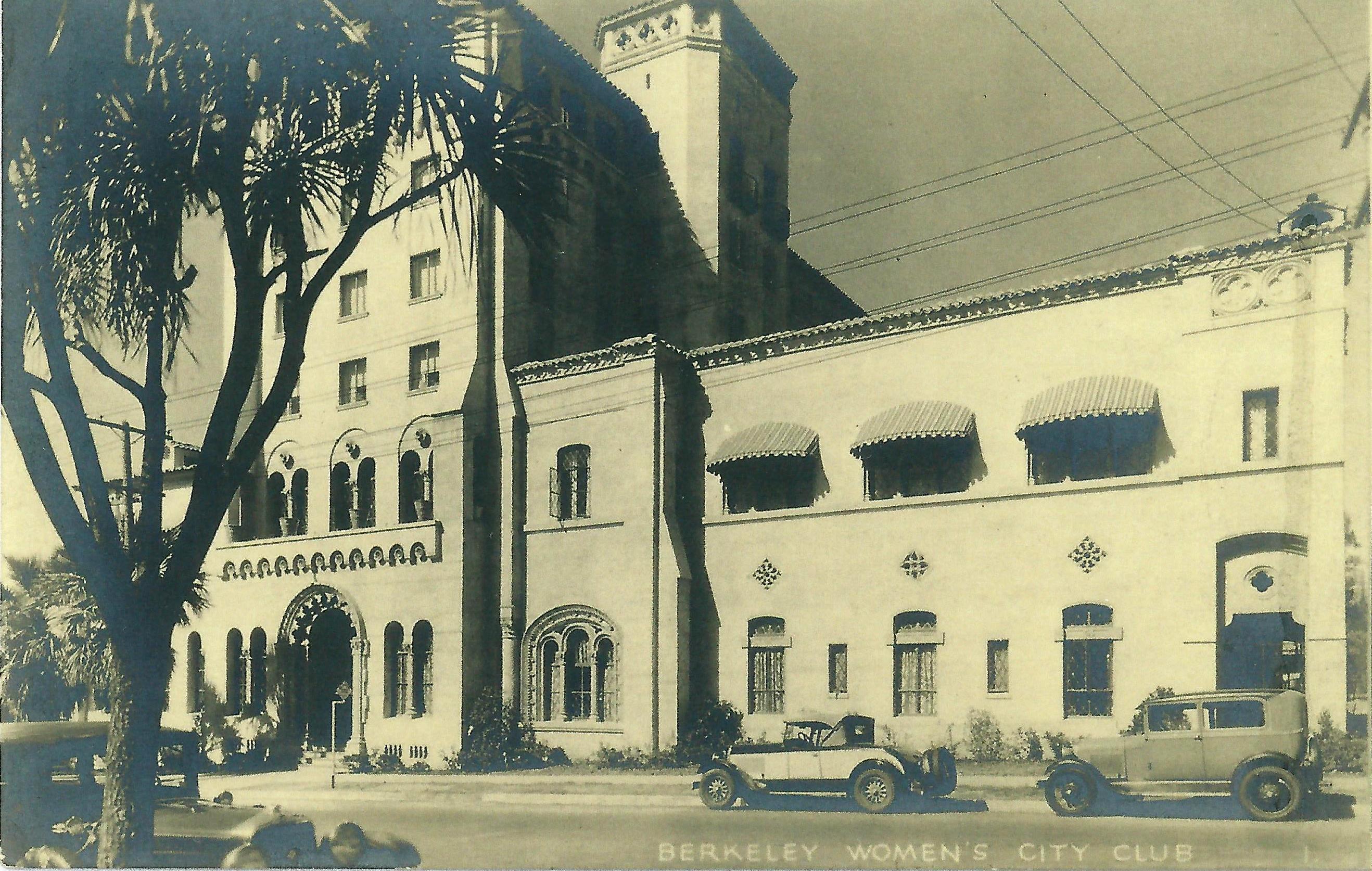 Berkeley Women's City Club postcard (ca. 1931)