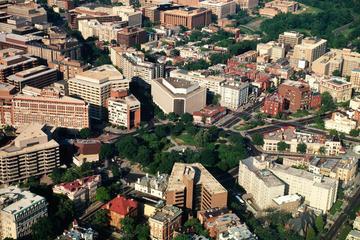Aerial view of DuPont Circle