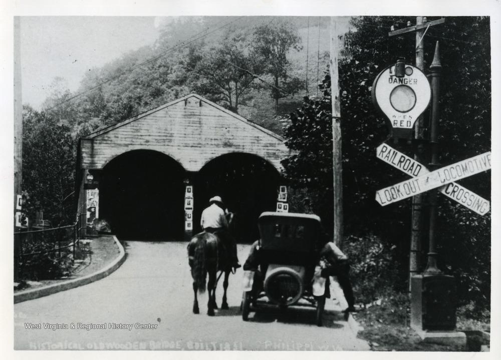 The bridge ca. 1920