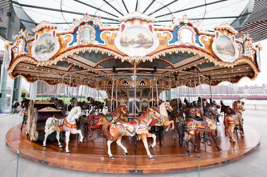 Closeup of Carousel