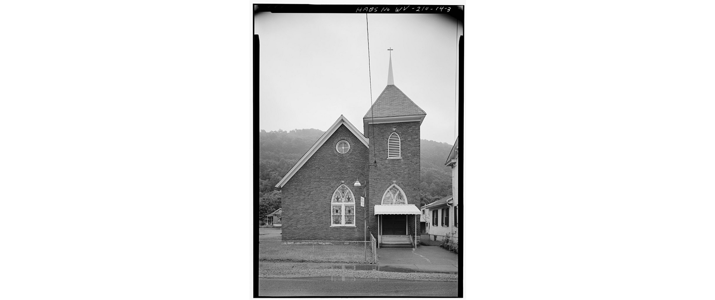 Front of Malden Methodist Church, circa 1980
