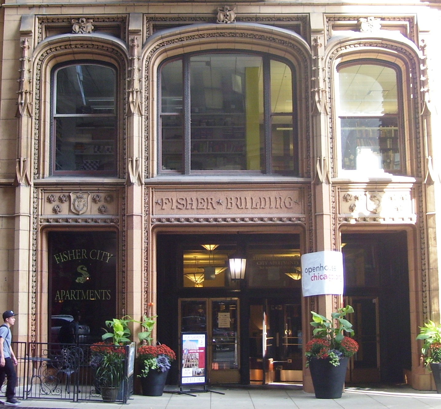 The Fisher Building was completed in 1896.