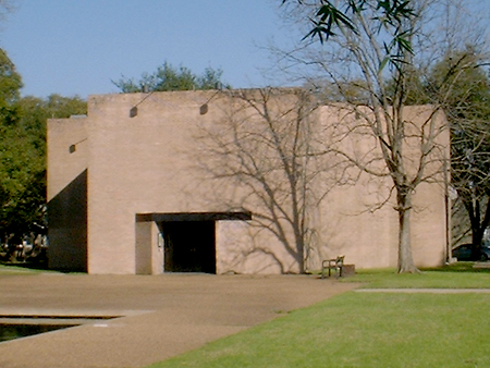 Rothko Chapel was built in 1971 and is an important ecumenical and social justice center in Houston.