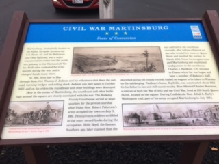 This historical marker is part of the Civil War Trails series of markers.