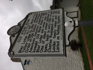 Old Stone House Marker