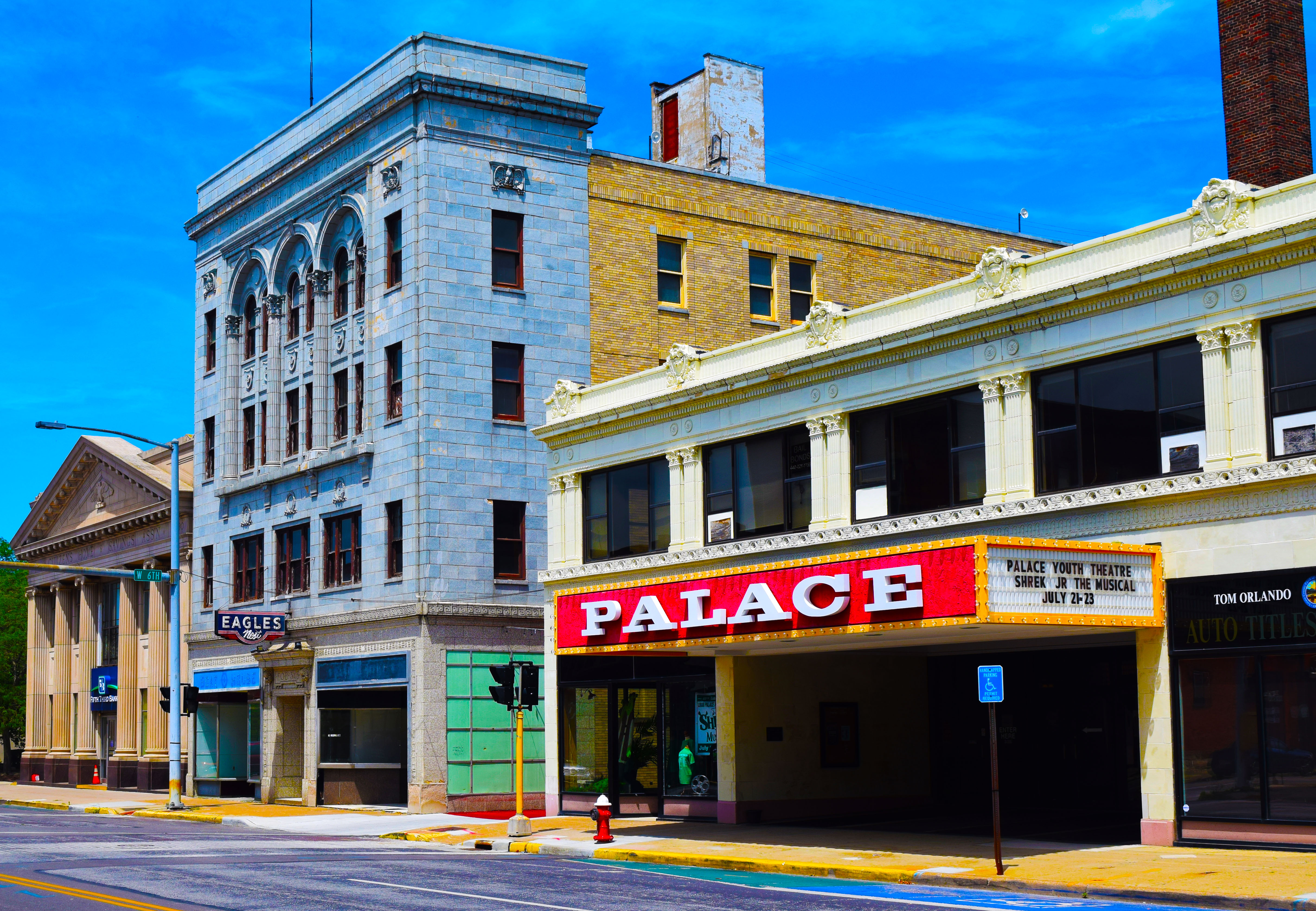Lorain Palace Theater today