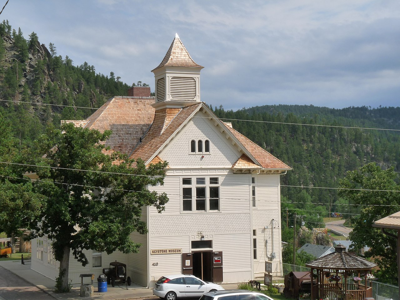 Keystone Historical Museum was built in 1899 and operated as a local school until 1988.