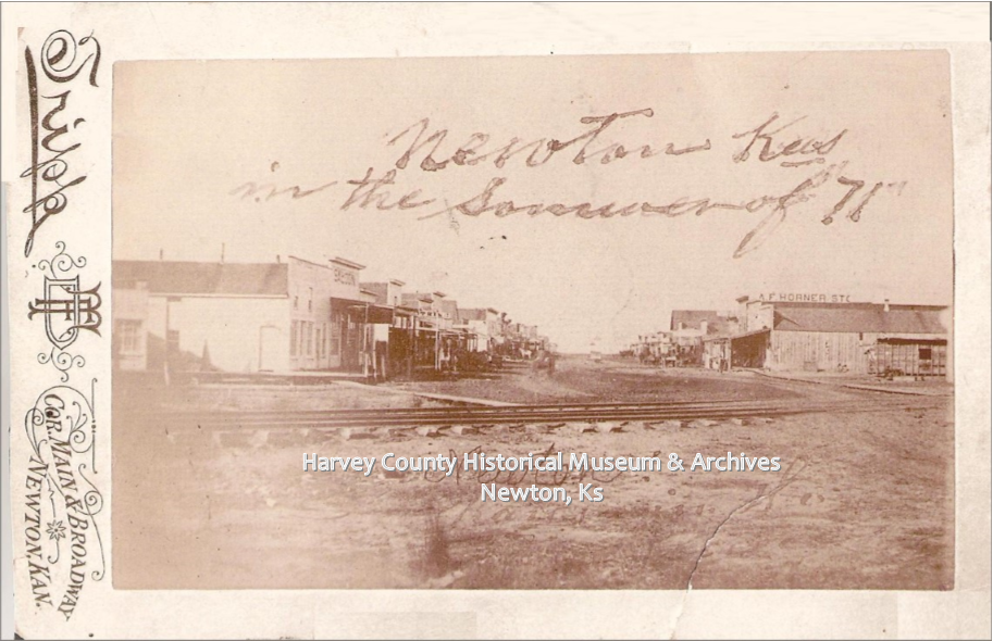 Newton, Ks, 1871