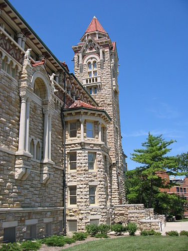 The museum is located in Dyche Hall on the KU campus