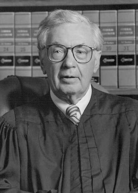 Judge Joseph F. Weis Jr. for whom the courthouse was named in 2015.
