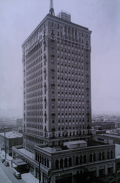 The hotel in 1949.