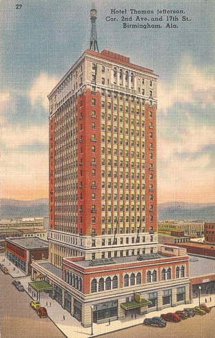 A postcard from the hotel, circa 1940