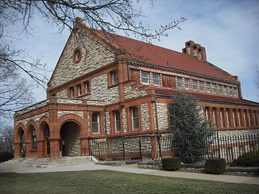 Spooner Hall was built in 1894 and was the university's first library.