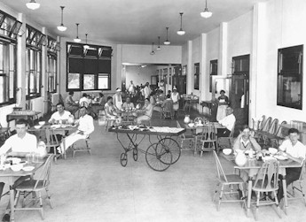 Patients making the best of life at Waverly Hills. (U of L Archive Photos)
