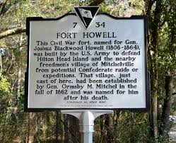 This is the historical marker telling about the fort.