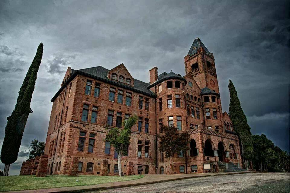 When it was the Preston School of Industry, the castle was the administration building.  Photo courtesy of Jerry Funderburgh, Vice President of the Preston Castle Foundation.