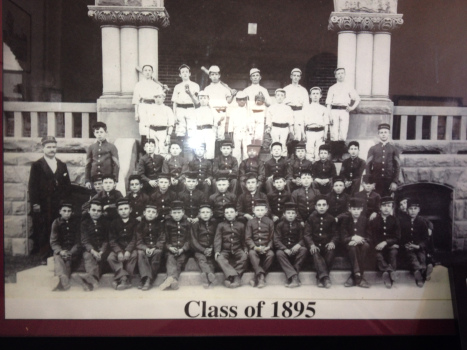 The very first class in 1895.
