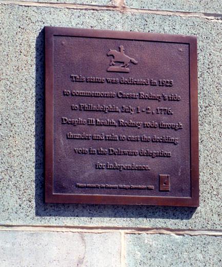 Commemoration of Caesar Rodney