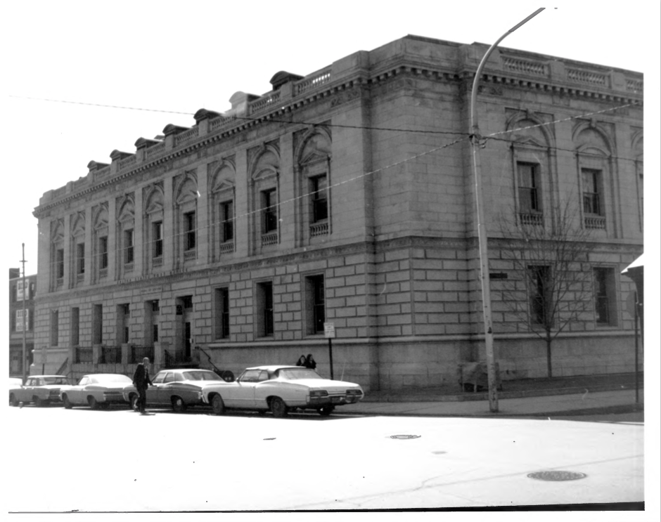 The Edward T. Gignoux Courthouse as recorded by the NPS in 1974, Photograph by Mary-Eliza Wengren in 1973, Filed with the GSA