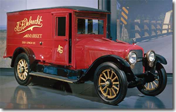 Vintage Dorris truck