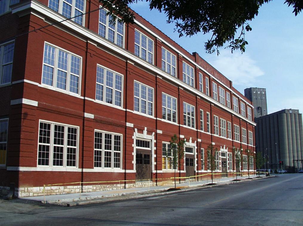 Exterior of building (current)