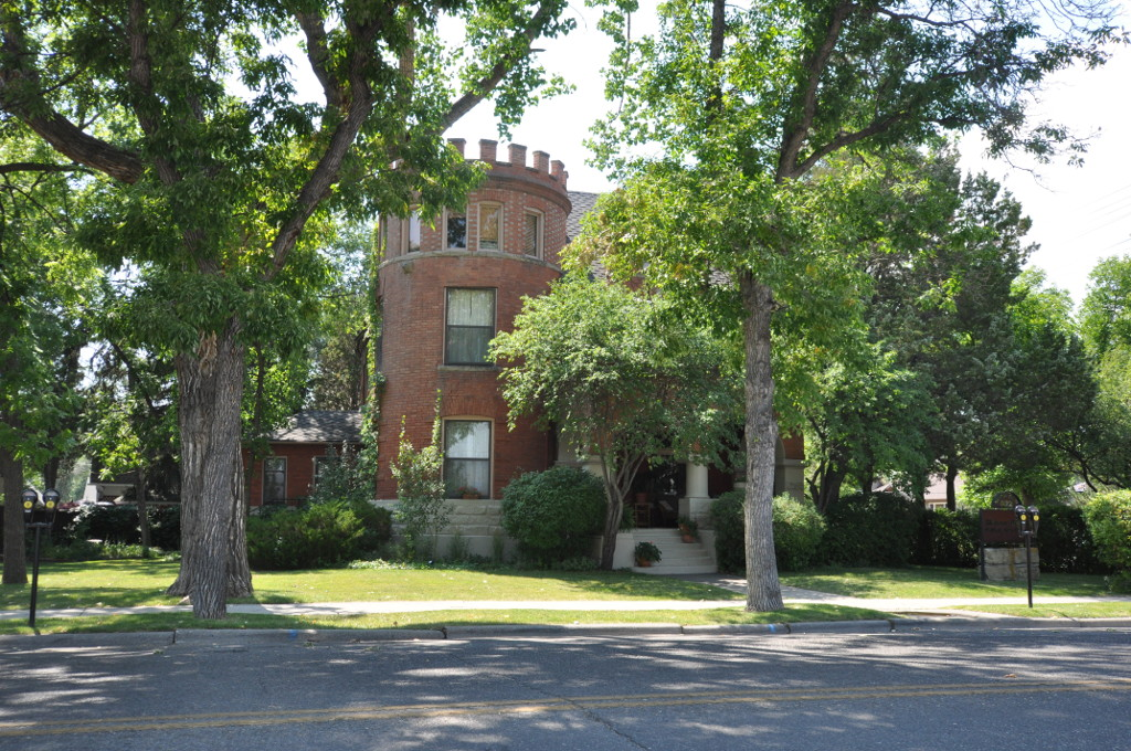 Known as The Castle, the Austin North House is a historic home erected in 1902.