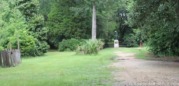 Uncle Jack Statue secluded at LSU Rural Life Museum