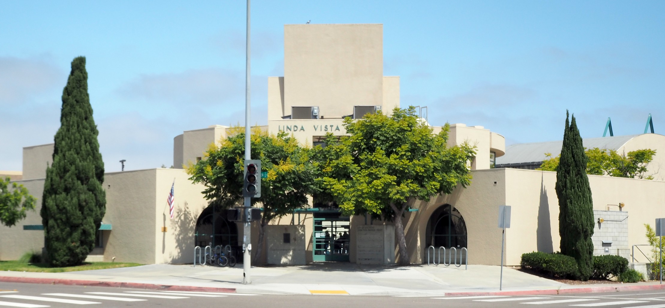 Linda Vista Branch Library, 1987