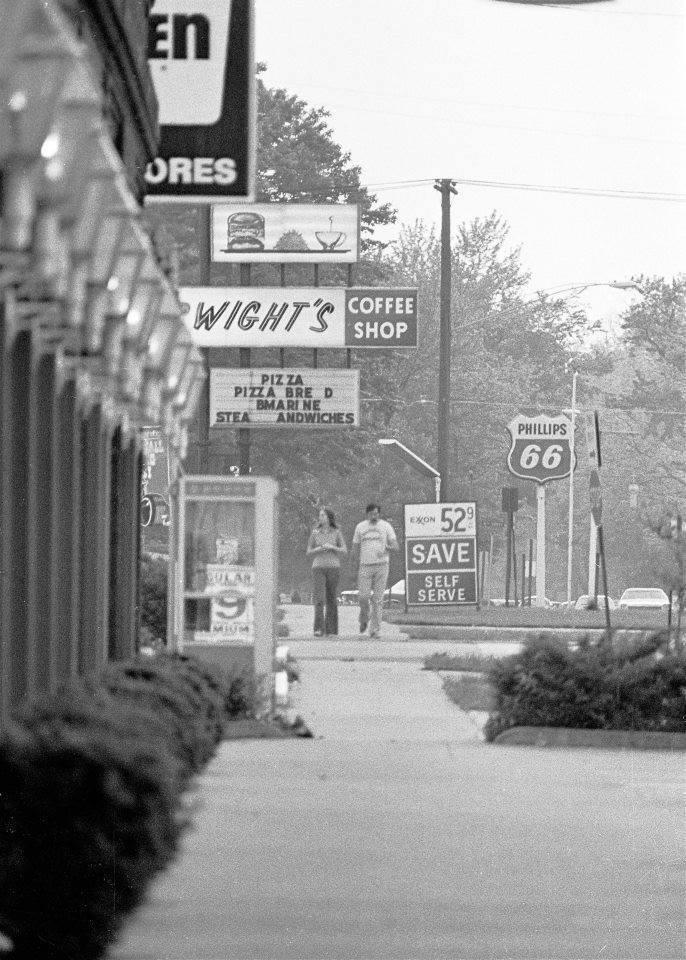 Dwight's, mid-1970s
