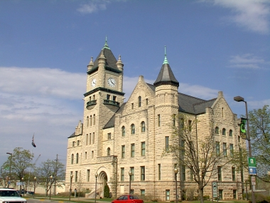 Authorized by a local referendum in 1899, Douglas County Courthouse was built between 1903 and 1905.