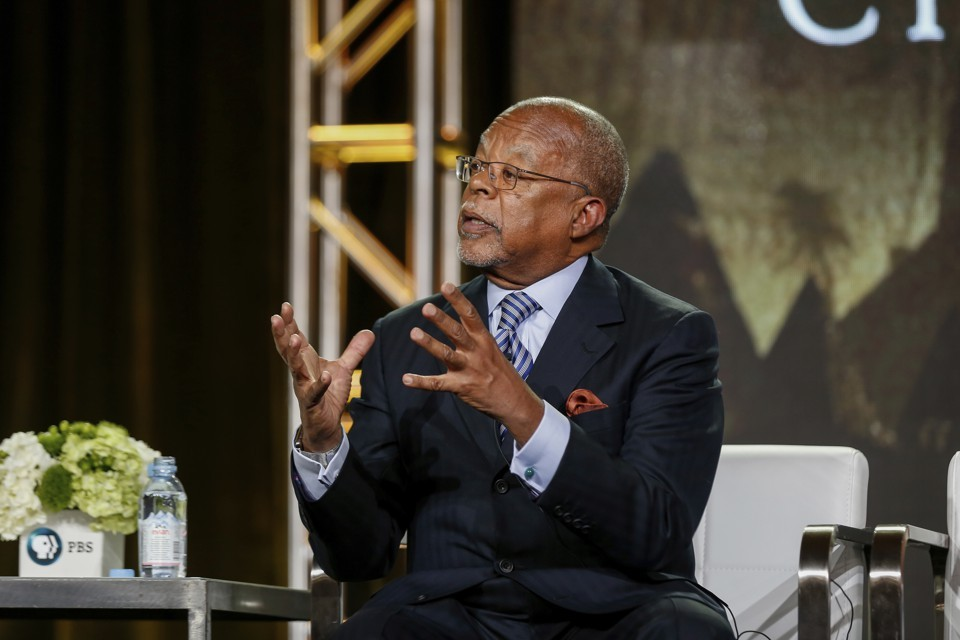 Henry Louis Gates Jr. speaking in Pasadena, California in January, 2017.