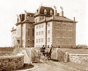 Old Fraser Hall, 1872-1965