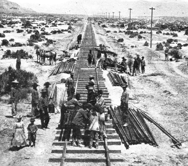 Working on the Transcontinental Railroad
