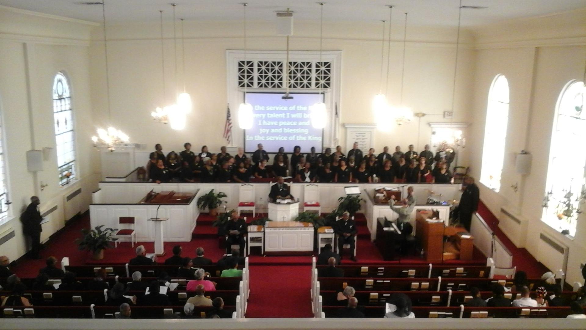 Sanctuary of Green Street Baptist Church