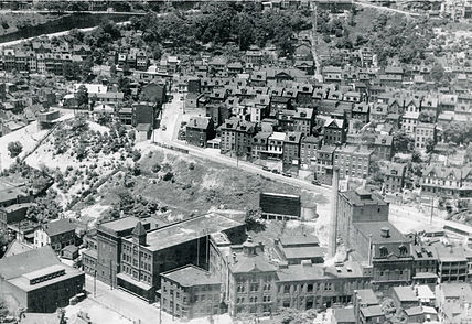 Arial View of the Brewery (circa 1930s)